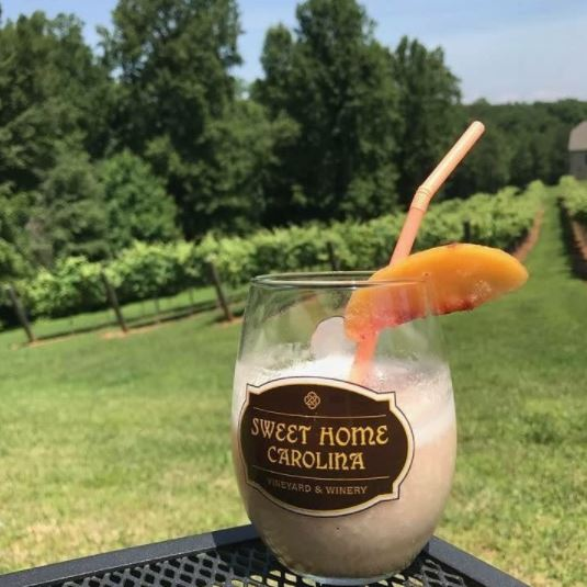 Sweet Home Carolina Wine Smoothie
