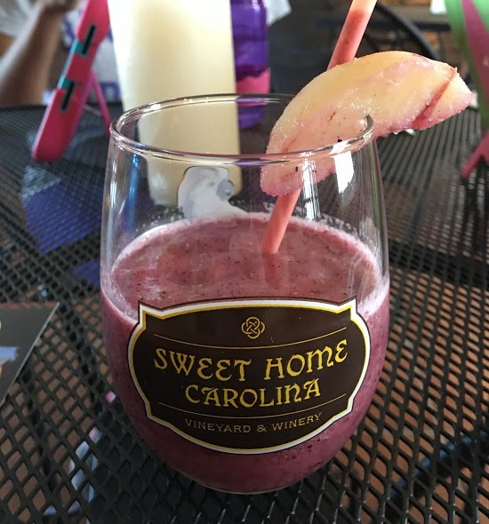 Sweet Home Carolina Vineyard Wine Smoothie